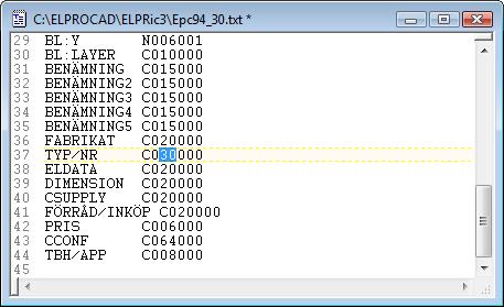 Helpdesk: Ändra max tecken på fältlangd (ic4.0+5.0) - Steg 2