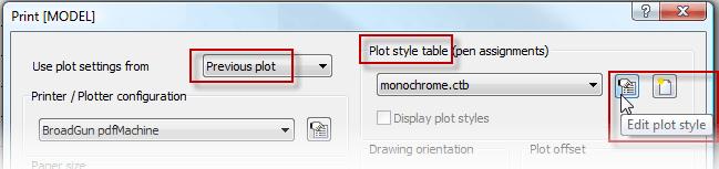 Helpdesk: Plot table
