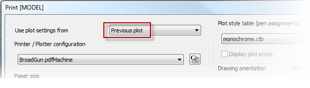 Helpdesk: Use plot settings